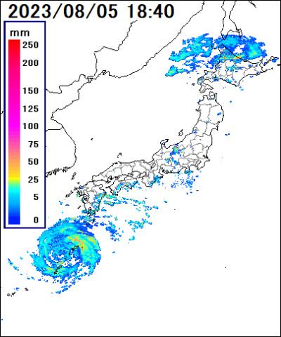 全国雨雲レーダ