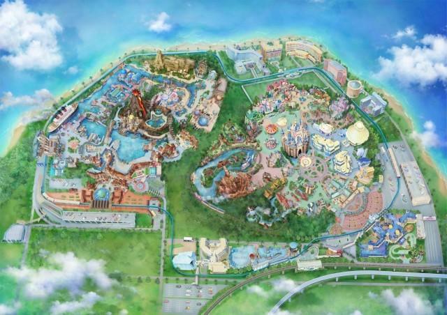 進化を続ける東京ディズニーリゾート=オリエンタルランド提供