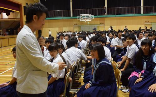 中学校 高津