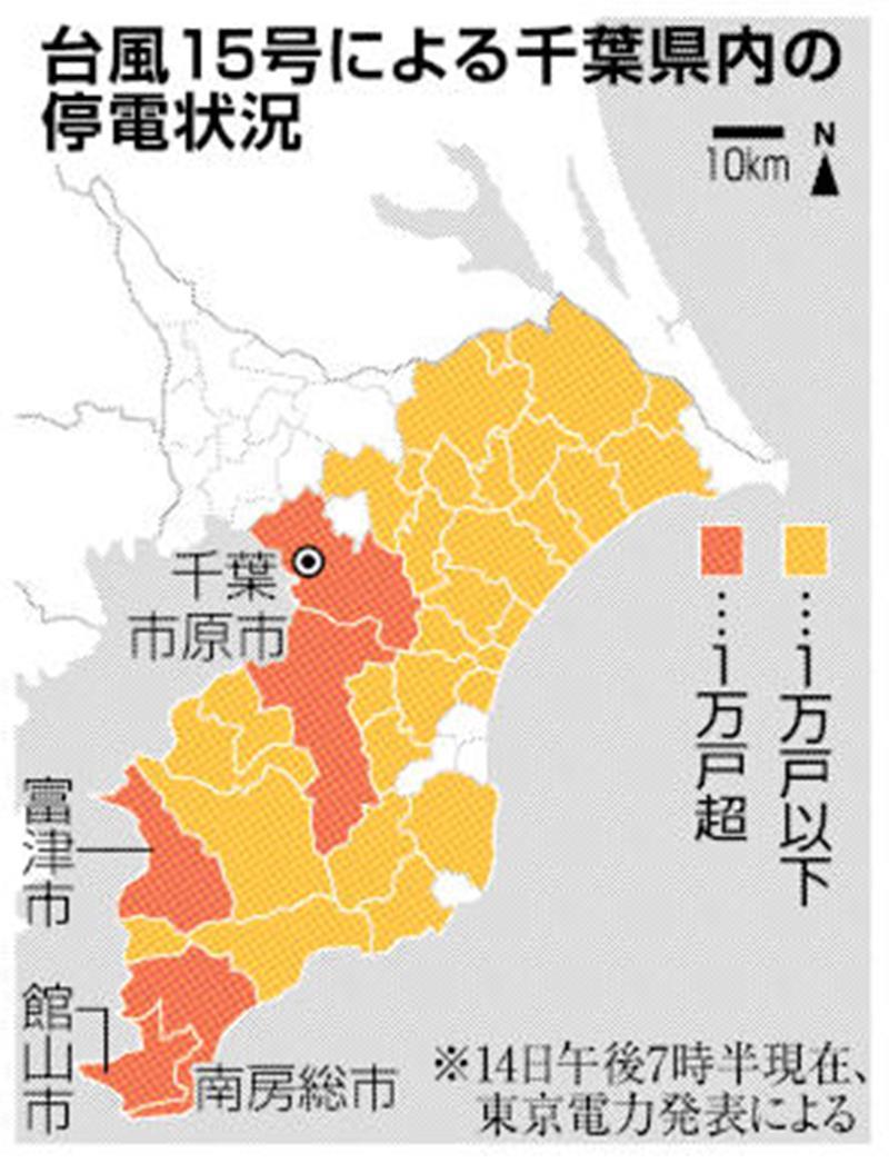 東京 電力 千葉 県 停電