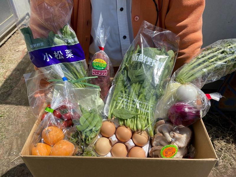 野菜 ドライブ スルー