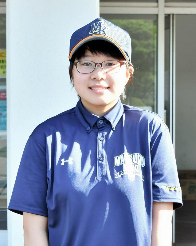 松戸向陽―国府台 女子部員としてチームを支えた松戸向陽・福島=船橋市民