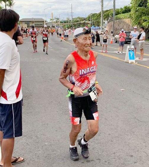 87歳「鉄人」挑戦続く トライアスロン最高齢完走 ギネス認定 稲田弘さん(八千代) | 千葉日報オンライン
