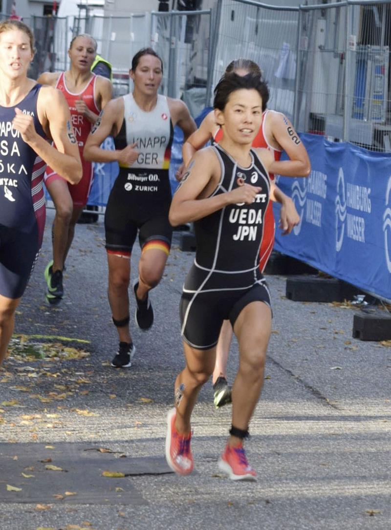 トライアスロン上田 4度目五輪へ第一歩 初の国際大会で27位