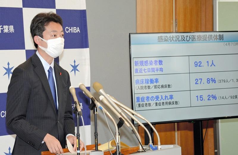 千葉県は「要請段階でない」 新型コロナまん延防止 熊谷知事、予断は ...