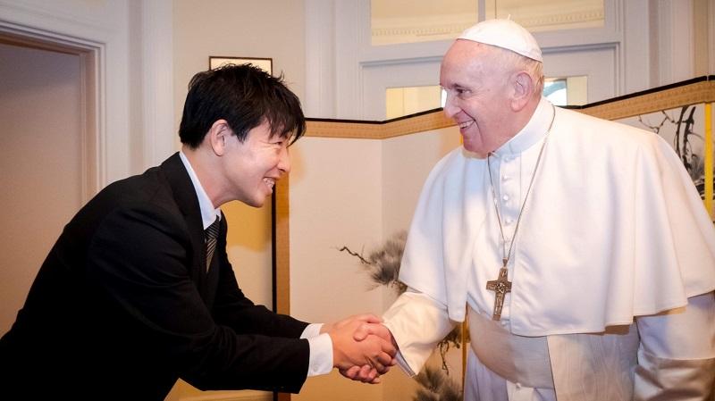 2021年04月14日(水)                                                                                   ローマ教皇の昼食会担当 被災地の食材で「応援」 佐倉のイタリア料理店